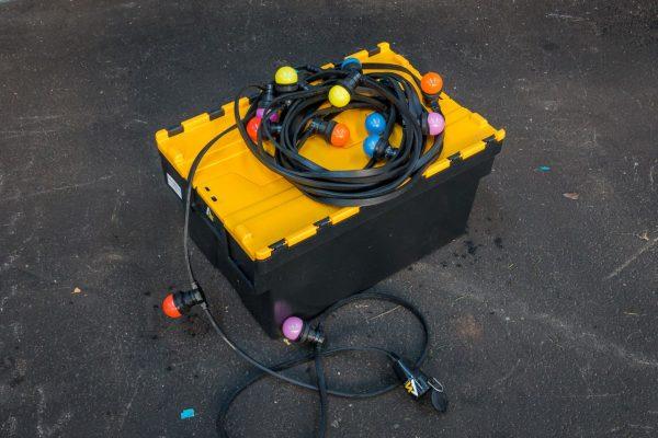 Maak jouw evenement compleet met de gekleurde LED prikkabels.